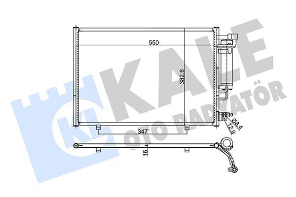 KALE 342870 Klima Radyatörü