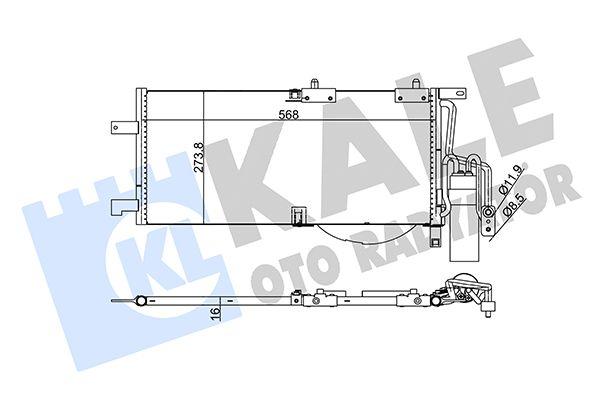 KALE 342915 Klima Radyatörü