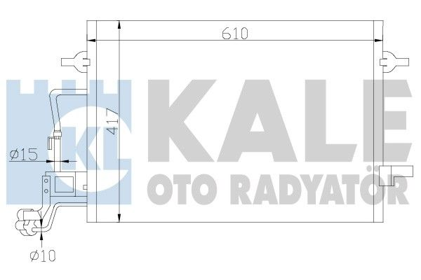 KALE 342920 Klima Radyatörü