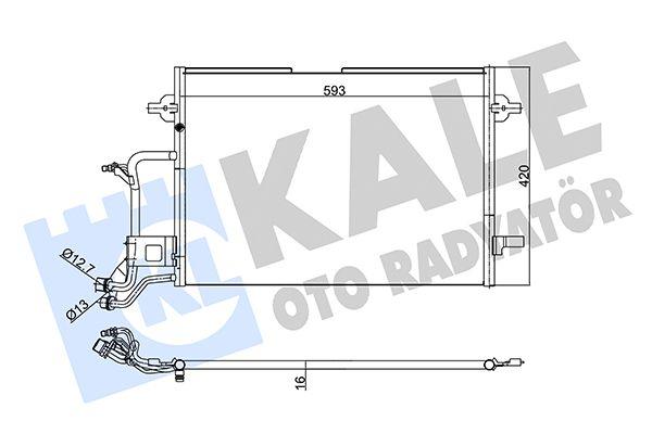 KALE 342935 Klima Radyatörü