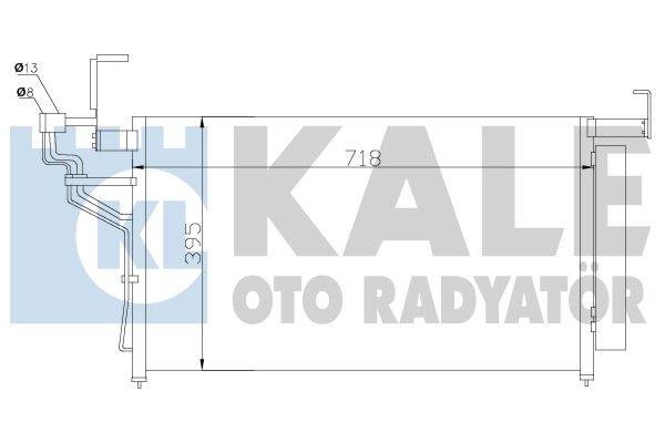 KALE 343010 Klima Radyatörü