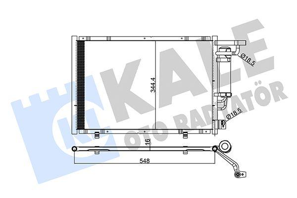 KALE 347320 Klima Radyatörü