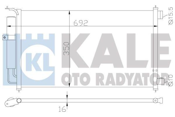 KALE 388300 Klima Radyatörü