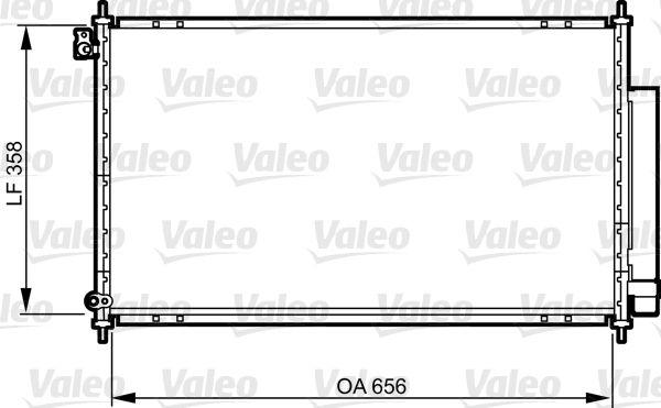 VALEO 814159 Klima Radyatörü