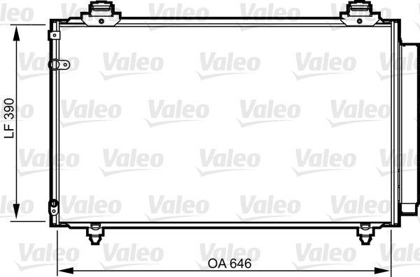 VALEO 814211 Klima Radyatörü