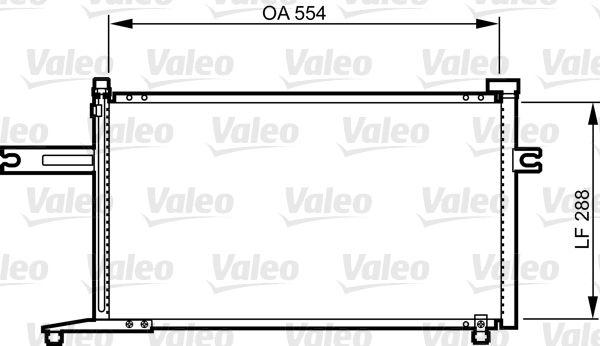 VALEO 814300 Klima Radyatörü