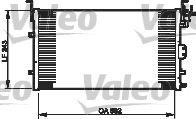 VALEO 814343 Klima Radyatörü