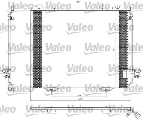 VALEO 817252 Klima Radyatörü