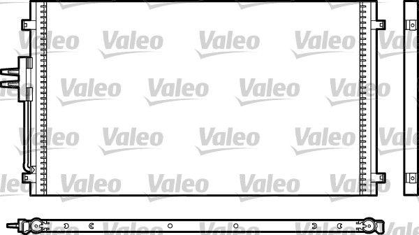 VALEO 817477 Klima Radyatörü