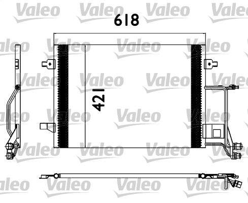 VALEO 817666 Klima Radyatörü