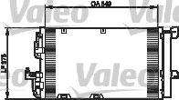 VALEO 818047 Klima Radyatörü