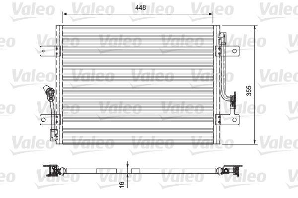 VALEO 818065 Klima Radyatörü