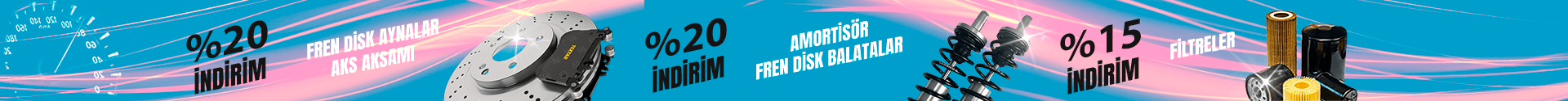 Amörtisör Fren Disk Aynalar Aks Aksamı Balata Filtre